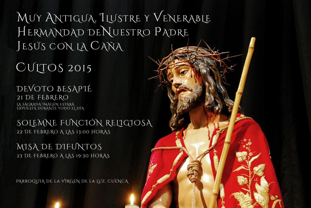 Cartel de Cultos 2015