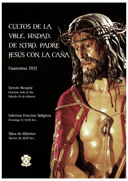 cartel de cultos 2013