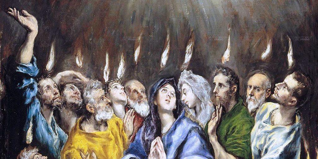 Hoy celebramos la Solemnidad de Pentecostés. – Santo Paso de la Caña